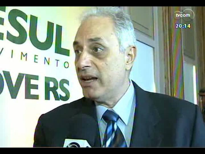 TVCOM 20 Horas - Confira a análise da palestra do jornalista William Waak, em Porto Alegre - Bloco 2 - 10/06/2013