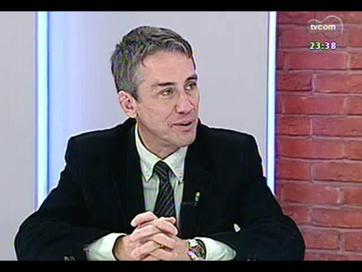 Mãos e Mentes - Diretor da Sociedade Brasileira de Traumatologia no Esporte, Fábio Krebs - Bloco 1 - 03/07/2013
