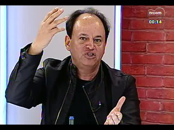 Mãos e Mentes - Secretário extraordinário da Copa em Porto Alegre, João Bosco Vaz - Bloco 4 - 21/08/2013
