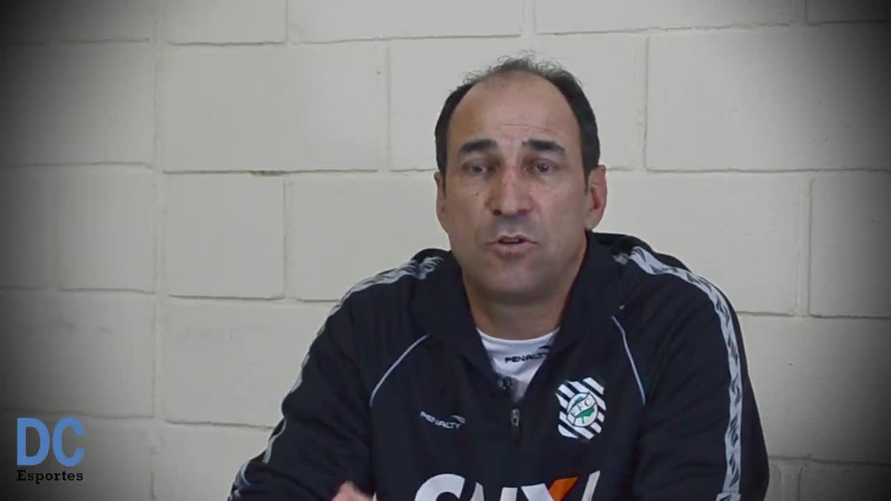 """O técnico torcedor do Figueirense: \""""A torcida nunca nos abandonou\"""""""