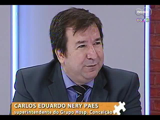 Mãos e Mentes - Diretor-superintendente do Grupo Hospitalar Conceição, Dr. Nery Paes - Bloco 4 - 21/11/2013