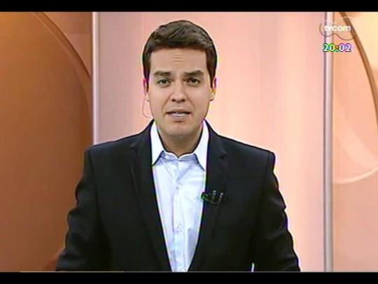 TVCOM 20 Horas - Desabamento em obra deixa trabalhadores feridos em Porto Alegre - Bloco 1 - 28/03/2014