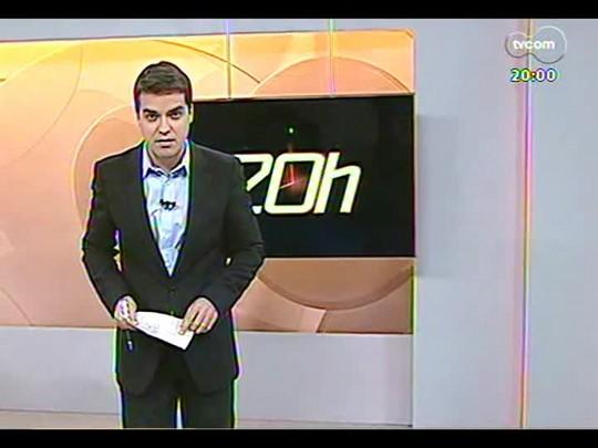 TVCOM 20 Horas - Autoridades buscam controle máximo para chegada de torcedores argentinos da Copa em POA - Bloco 1 - 28/05/2014