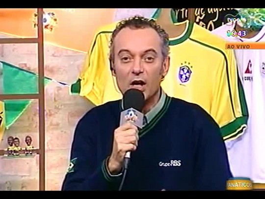 Pai Danilo afirma que Brasil vai ganhar de Camarões