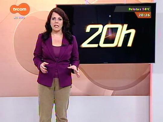 TVCOM 20 Horas - Bancários entram em greve a partir da semana que vem - Bloco 3 - 26/09/2014