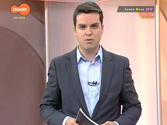 TVCOM 20 Horas - Funcionários do Banrisul decidem continuar greve - Bloco 2 - 13/10/2014