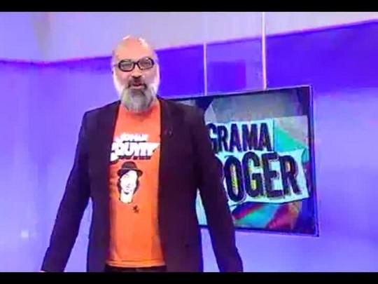 Programa do Roger - Camila Moreno, cantora - Bloco 1 - 14/11/2014