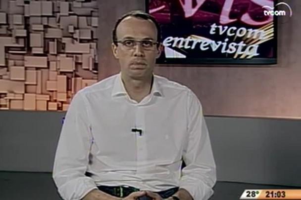 TVCOM Entrevista - Jovem empresária cria banco de microcrédito para outros jovens empresários - 1º Bloco - 22.11.14