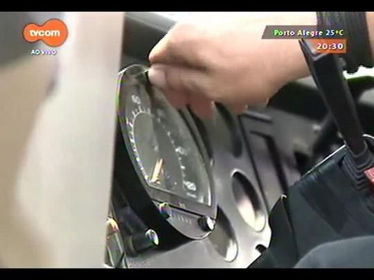 TVCOM 20 Horas - Blitz do Inmetro na RS-122 em Bom Princípio multa 61 motoristas - 02/12/2014