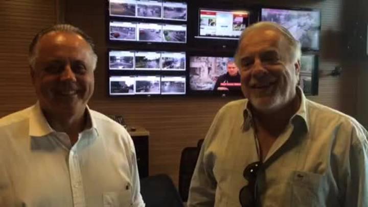 Cacalo aceita convite de Fernando Carvalho para assistir Gre-Nal na torcida mista