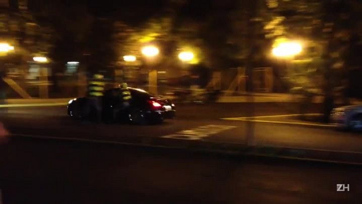 Policial é arrastado por carro ao tentar abordar motorista
