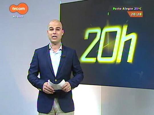 TVCOM 20 Horas - Prefeitura lança na segunda-feira projeto para melhorar o trânsito da capital - 15/05/2015