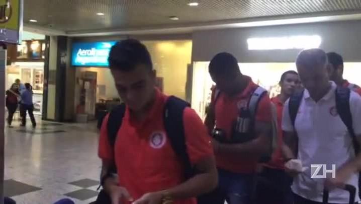Inter embarca para o Rio de Janeiro, onde enfrenta o Fluminense