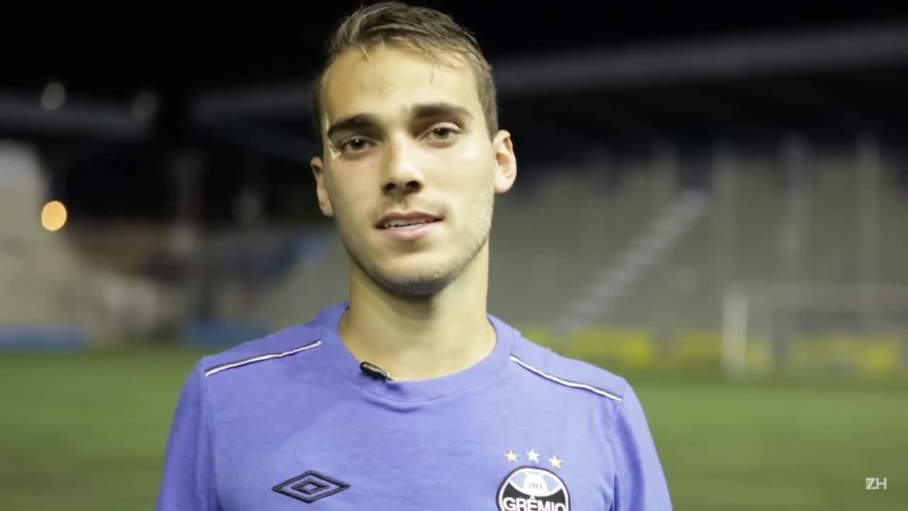3 perguntas para Felipe Tontini, camisa 10 do sub-20 do Grêmio