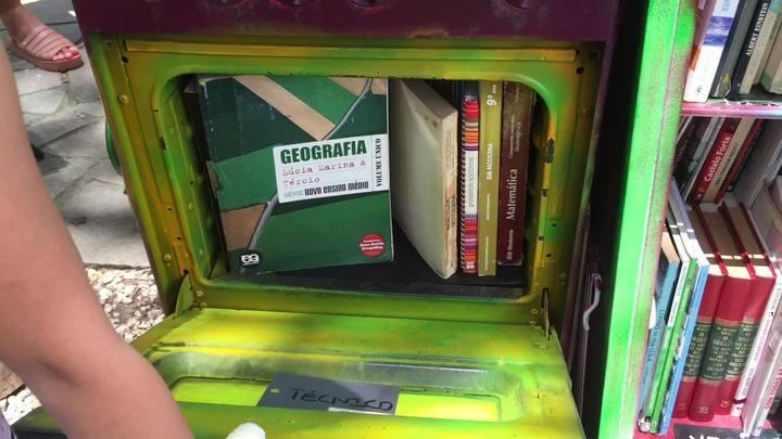 Cozinha cultural promove troca de livros no Higienópolis