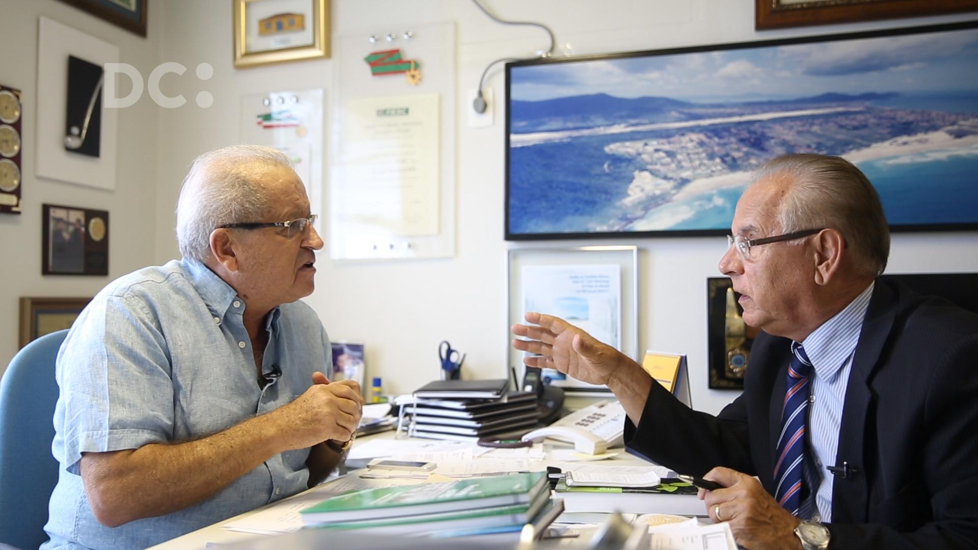 Moacir Pereira entrevista Fernando Marcondes de Mattos, proprietário do Costão do Santinho