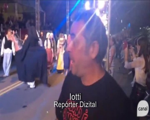 As cenas do desfile pelo Repórter Dizital