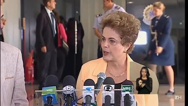Dilma diz que só muda ministério depois da votação do impeachment
