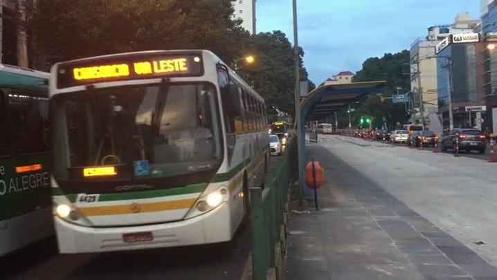 Trecho do corredor de ônibus da Protásio deve ser liberado na próxima semana