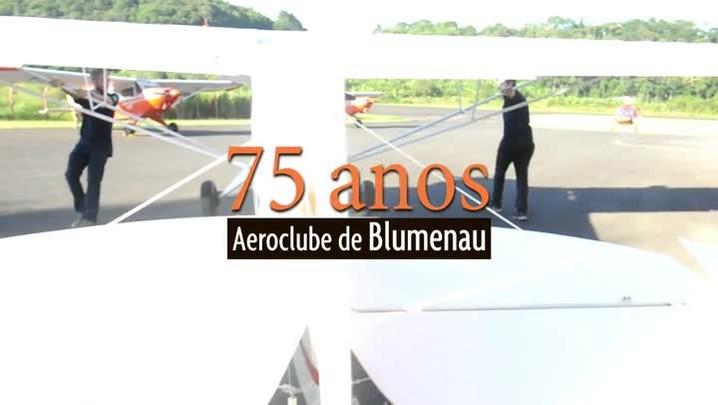 Aeroclube de Blumenau completa 75 anos nesta sexta-feira