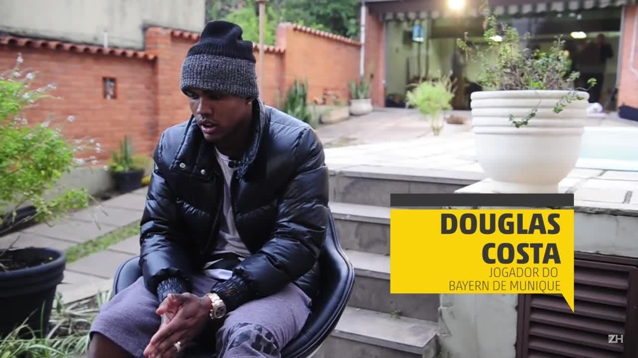 Três perguntas para Douglas Costa