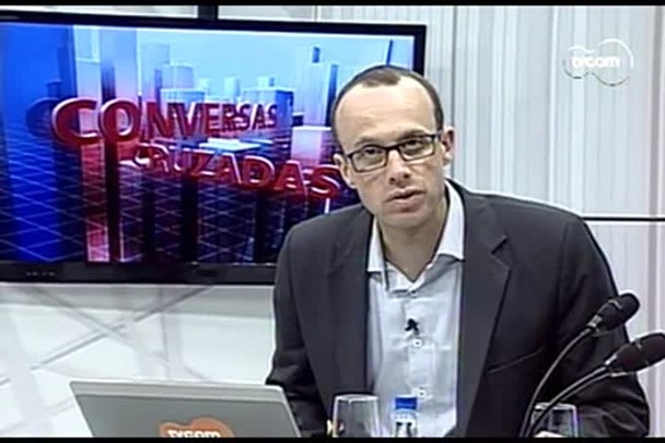 TVCOM Conversas Cruzadas. 3º Bloco. 08.09.16