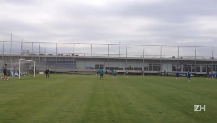 Grêmio treina antes de enfrentar o Novo Hamburgo