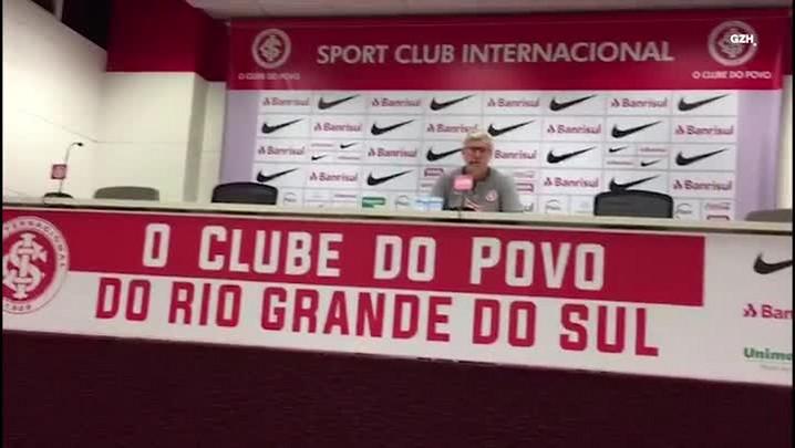 Odair Hellmann fala sobre vitória contra o São José