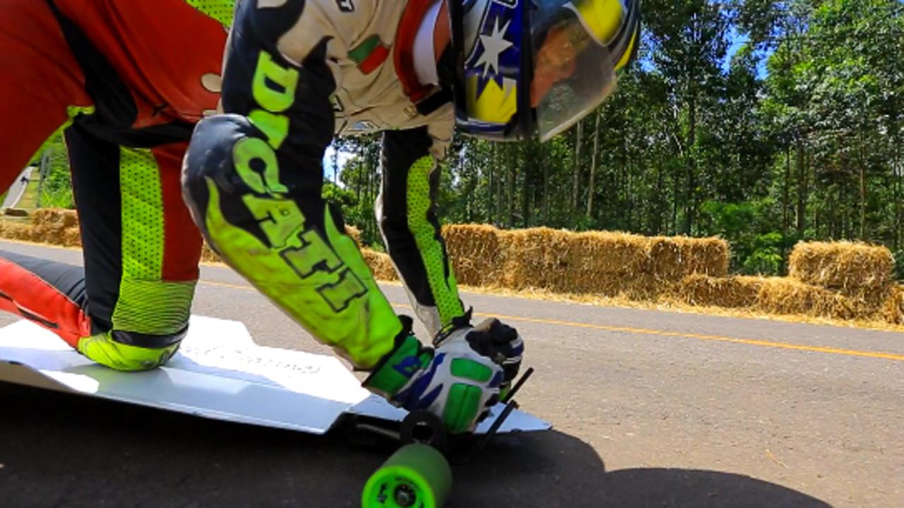 Campeonato de Downhill em Teutônia tem a pista mais rápida do mundo.