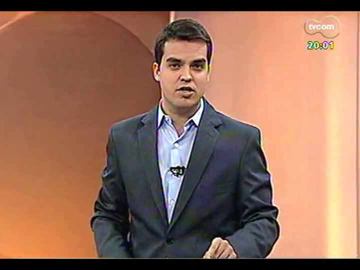 TVCOM 20 Horas - 16/01/2013 - Bloco 1 - Novo aeroporto para região metropolitana