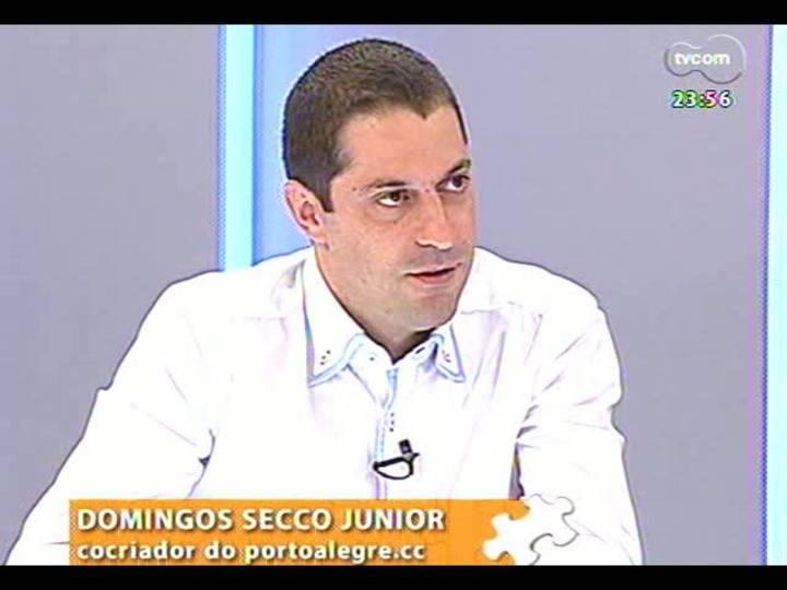 Mãos e Mentes - Cocriador da plataforma PortoAlegre.cc, Domingos Secco - Bloco 3 - 17/01/2013