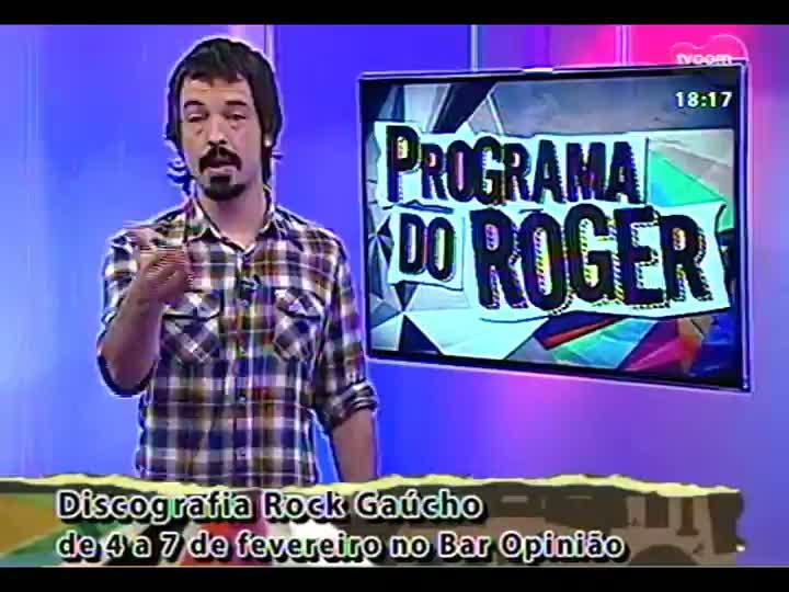 Programa do Roger - Confira a participação da banda Tópaz - bloco 3 - 04/02/2013