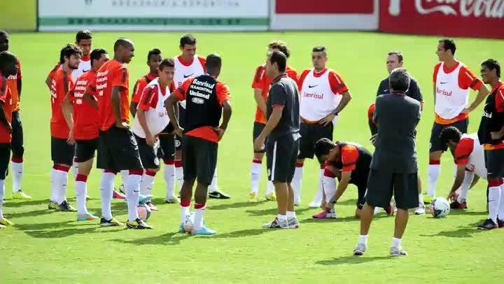 Inter faz treino físico antes do Gre-Nal 396