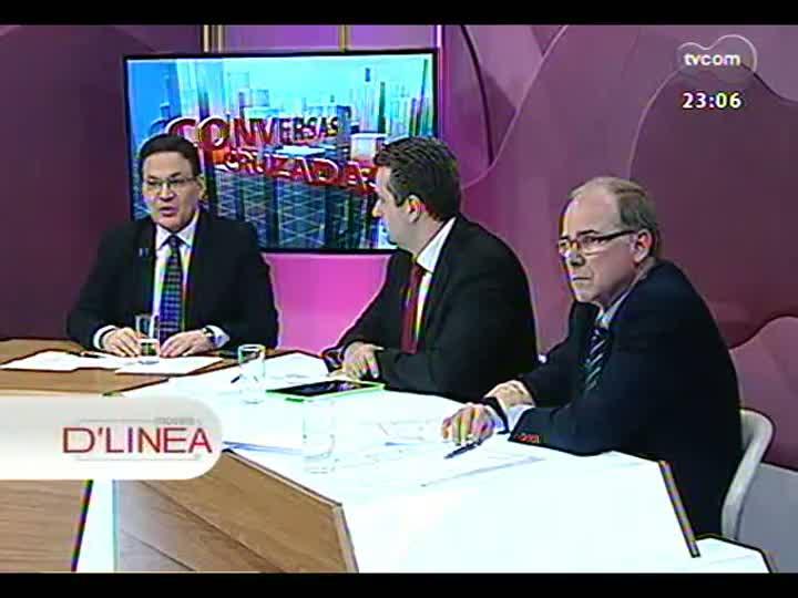 Conversas Cruzadas - Debate sobre a disparada do dólar, as exportações e a influência dos protestos no mercado exterior - Bloco 4 - 19/06/2013
