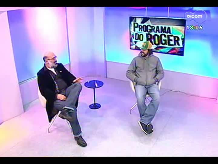 Programa do Roger - Entrevista com Gabriel O Pensador - bloco 2 - 20/06/2013