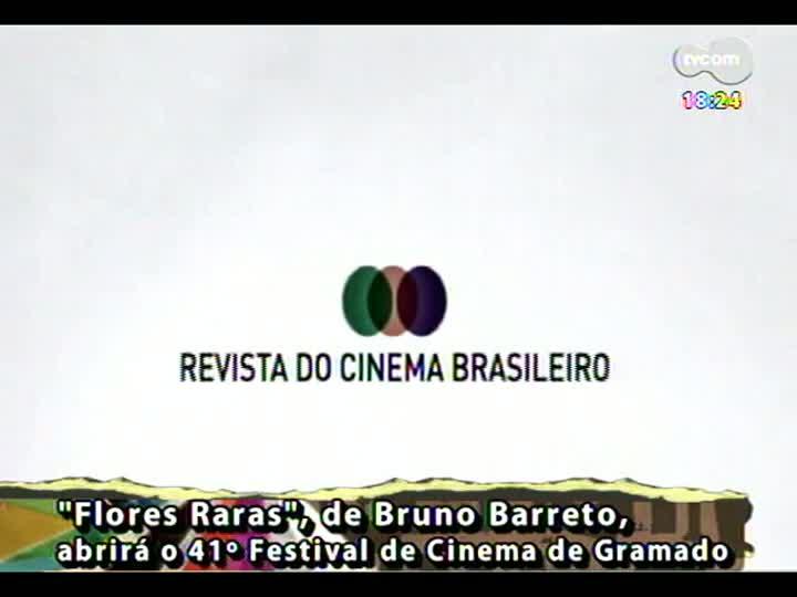 Programa do Roger - Filme \'Flores Raras\' de Bruno Barreto, abre Festival de Gramado - bloco 4 - 03/07/2013