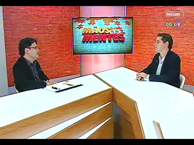 Mãos e Mentes - Professor e decano da Escola Politécnica da Unisinos, Carlos Alberto Mendes Moraes - Bloco 4 - 10/10/2013