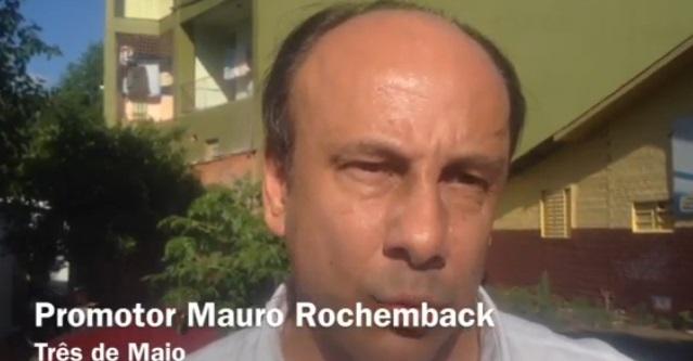 Promotor Mauro Rochemback fala sobre a adição de água oxigenada no leite . 07/11/2013