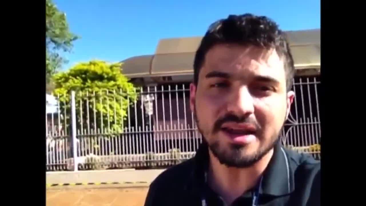 Forte aparato de segurança antecede exumação de Jango em São Borja