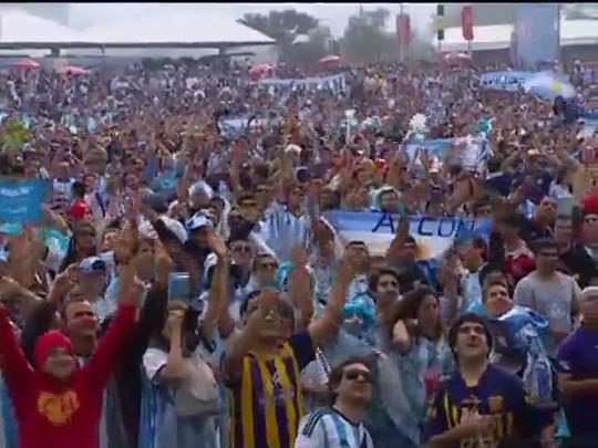 TVCOM 20 Horas - O jogo Nigéria X Argentina em POA - Bloco 1 - 25/06/2014