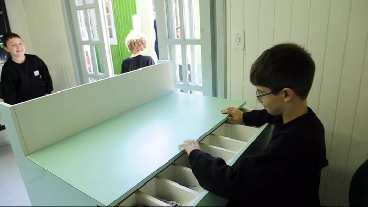 Minicidade em Concórdia, no Oeste de SC, é utilizada para ensinar estudantes sobre cooperativismo