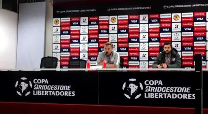 """Enrique Carrera, sobre o jogo no México: \""""Vai ser uma partida dura\"""""""