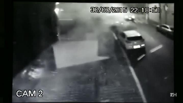 Imagens de câmeras de segurança revelam explosão de bomba no Instituto Lula