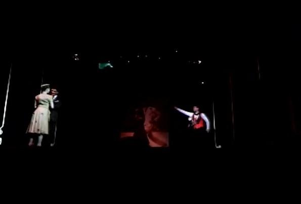 "O tango do espetáculo \""Esquina Carlos Gardel\"""