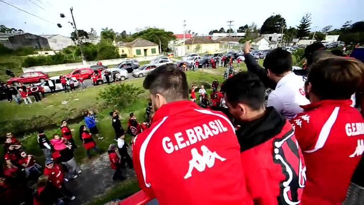 Com carreata, milhares de xavantes recebem o Brasil-Pel