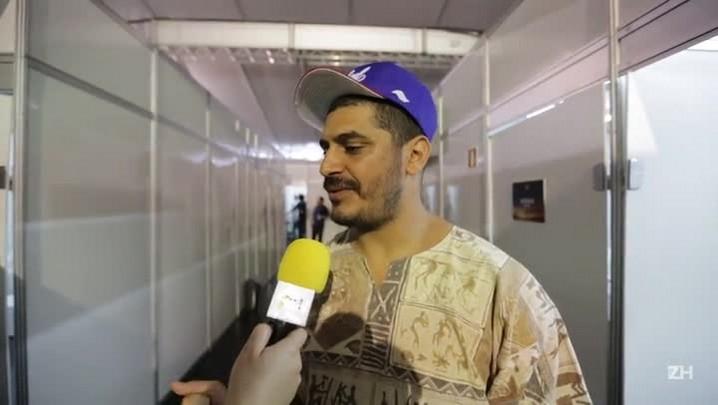 Planeta Atlântida: Criolo manda recado aos atingidos pela chuva na Capital