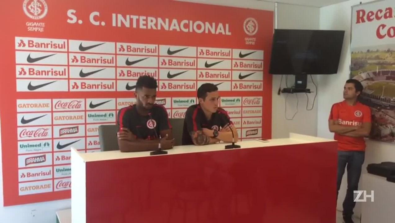 """Seijas fala em necessidade de grupo do Inter \""""sofrer\"""""""