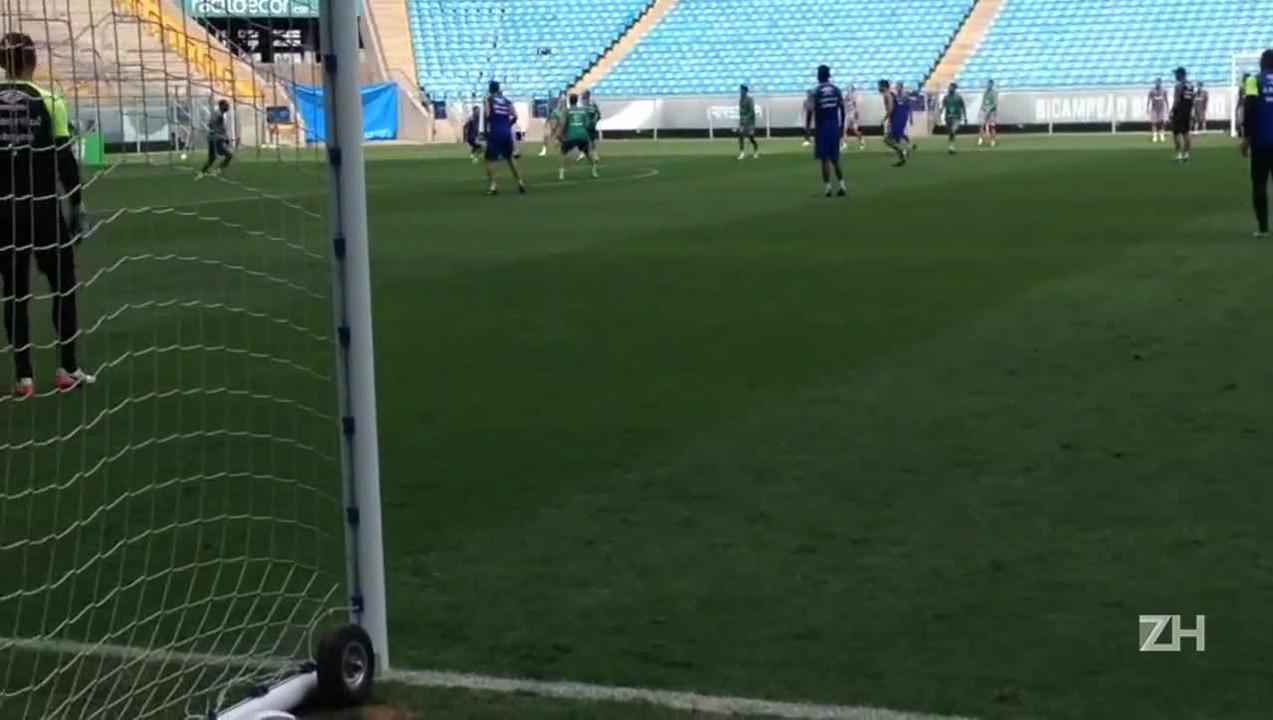 Grêmio faz último treino antes da estreia no Gauchão