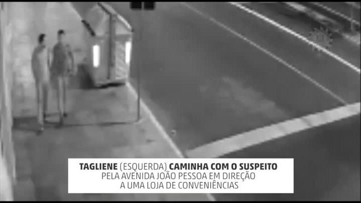 Vídeo mostra suspeito de matar jornalista em Porto Alegre