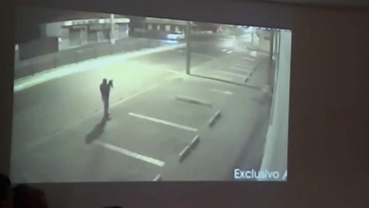 Vídeo mostra ação da quadrilha presa em banco em Porto União